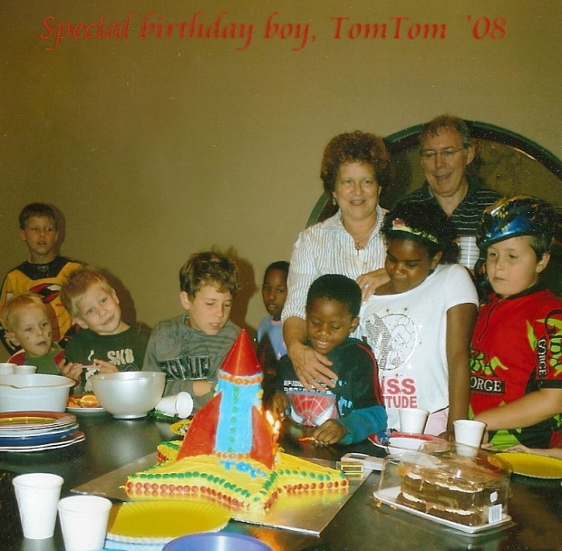 Tom 7th Birthday