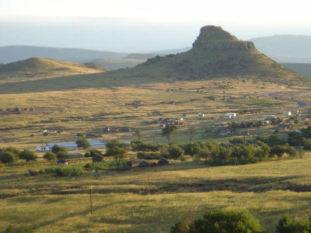 Isandlwana view