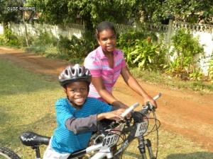 Kids at Mtunzini cottage