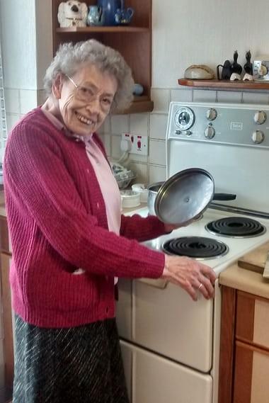 53-yr-old stove