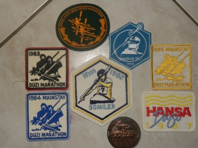 Dusi badges (small)
