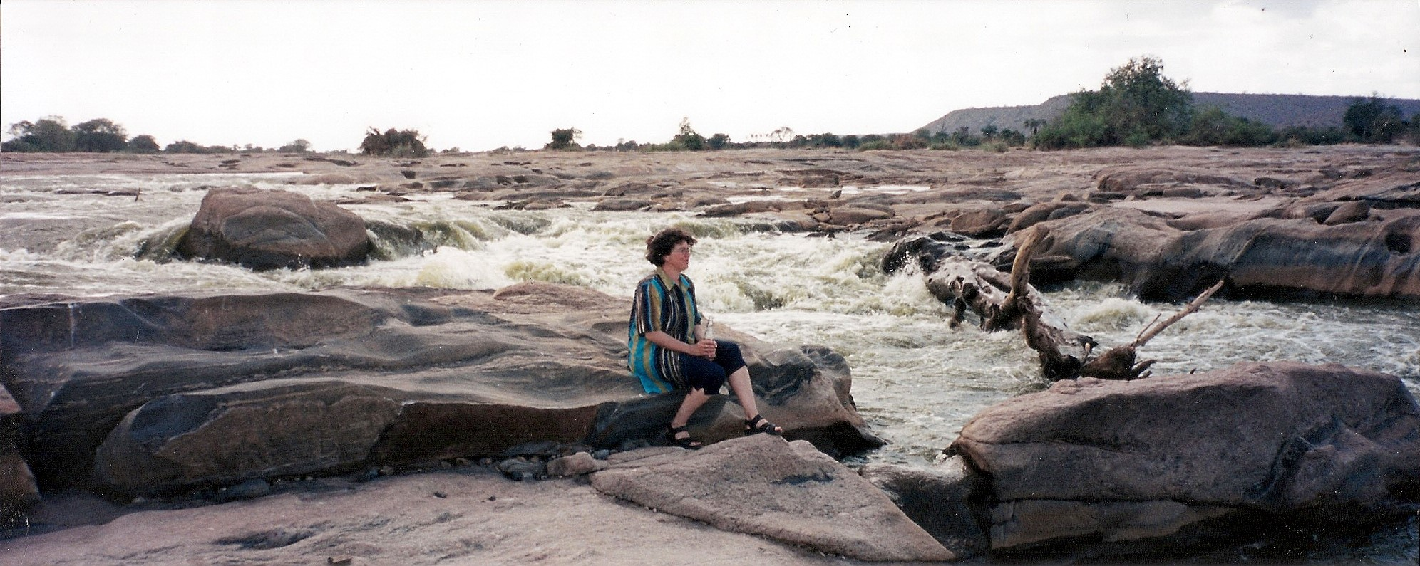 The Galana River in East Tsavo