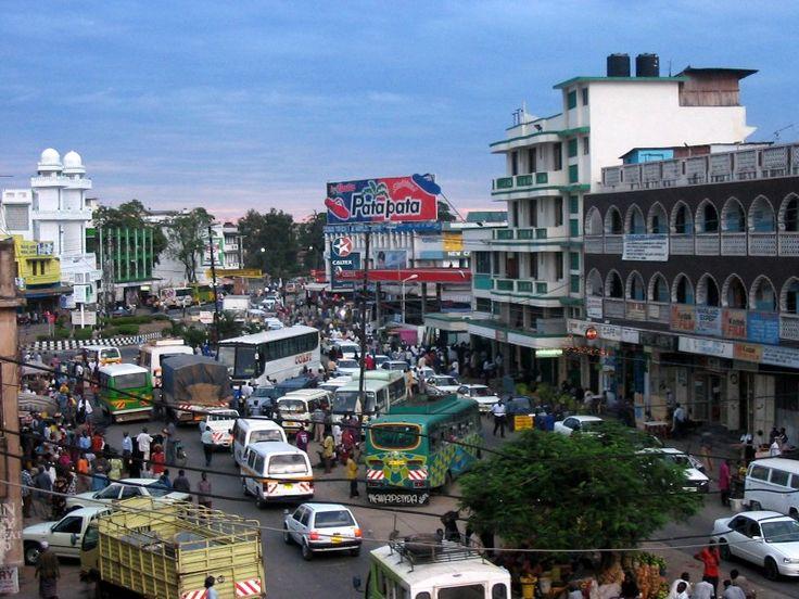 Mombasa downtown