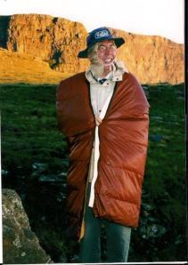 Wasn't hot. Aitch still huddling in the tent!