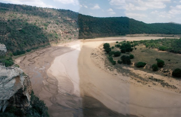 The mighty Mfolosi River