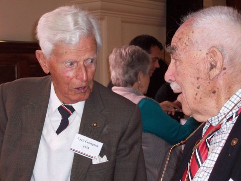 Cyril Crompton (97) and Pieter Swanepoel (91)