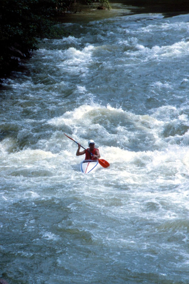 Me on the Ocoee river