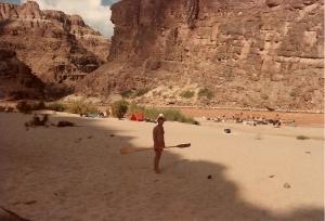 Bernie Garcin - great mate; - - and WHAT a campsite!!