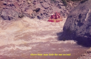 Tugela Raft Trip above 4man hole