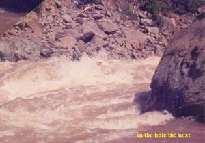 Tugela Raft Trip in 4man hole