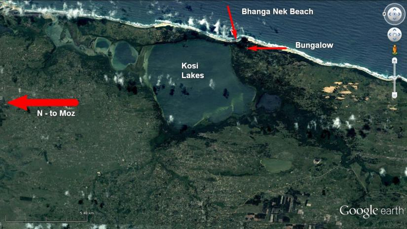 Bhanga Nek Map