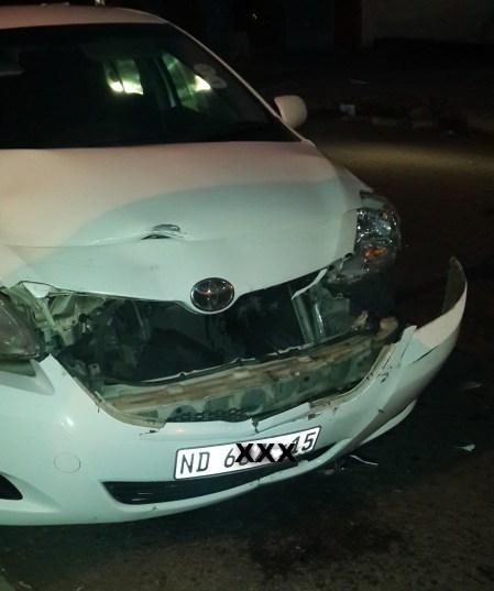 car crash dominee