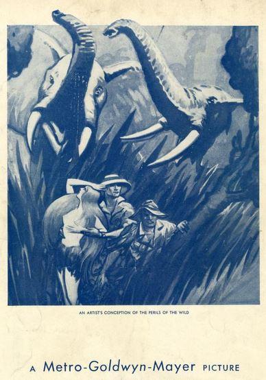 Trader Horn pamphlet