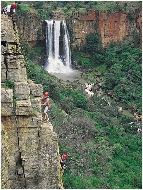 Waterval Boven falls