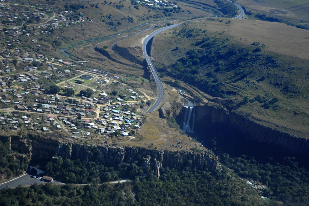 Waterval Boven village