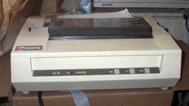dot matrix printer