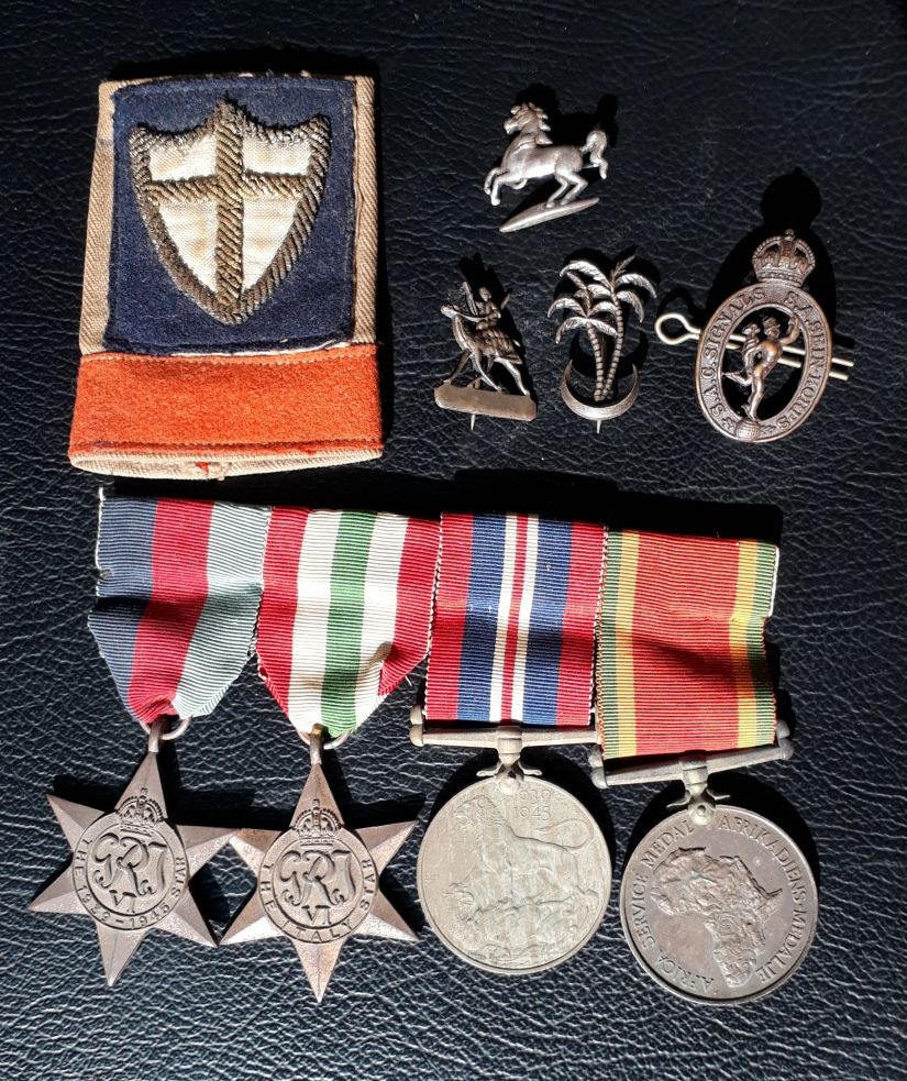Dad War Medals