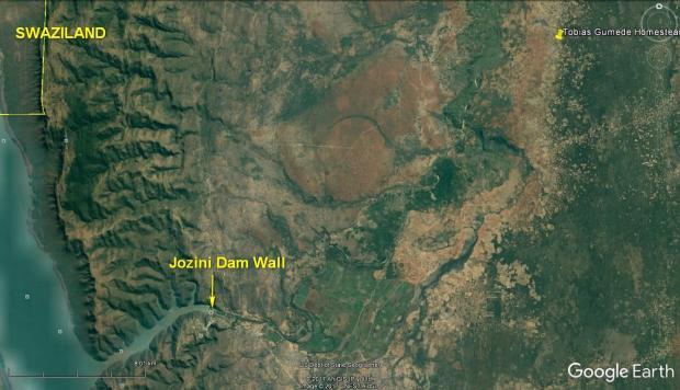 Jozini Map