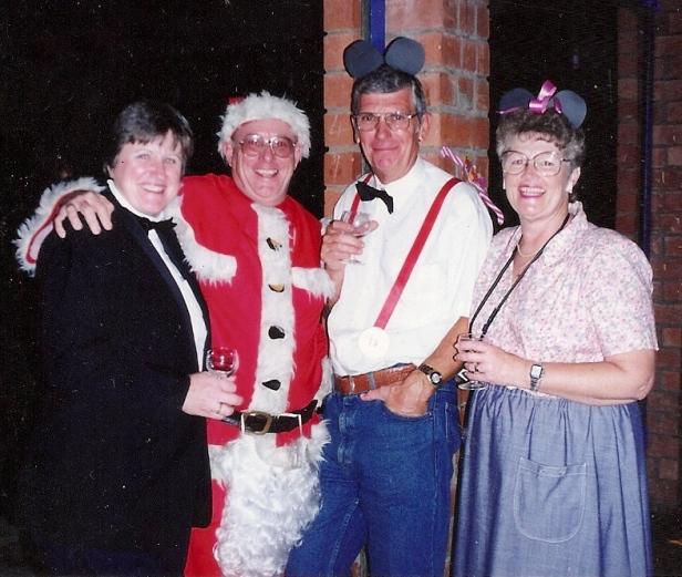 Ernie Alder, Joan Saycell, Chris & Liz Wade