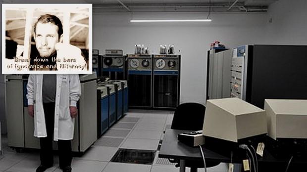 Michael Hart & Sigma computer