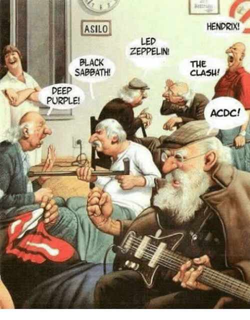 Old age home Asylum Rockers