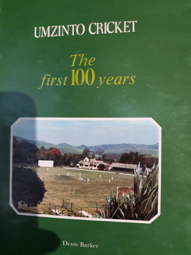 Umzinto Cricket 100yrs