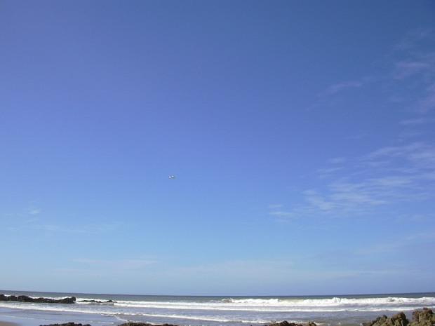 Wild Coast walk_2004 Janice flies early