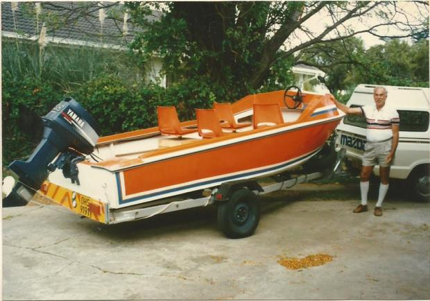 1990 April Dad's newly built boat0002