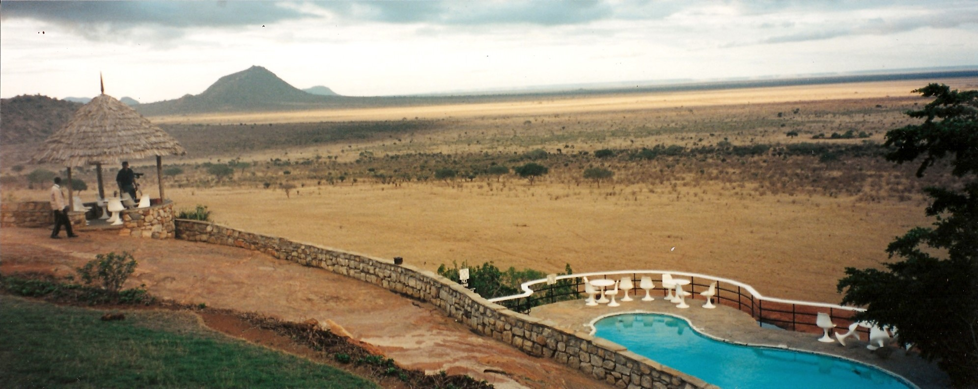 Tsavo East - Another ice-cold Tusker beer for you, sir?